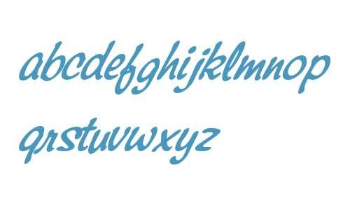 Montauk W01 Regular Italic