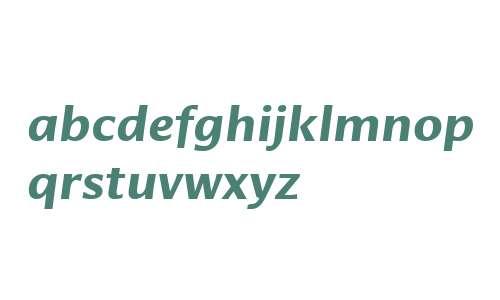 Cora W02 Bold Italic
