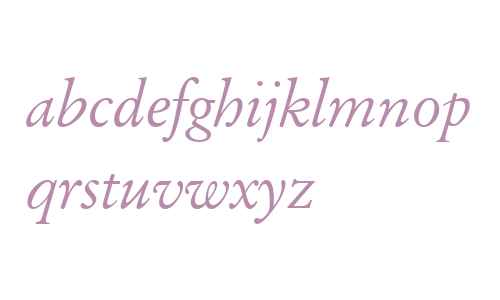 Original Garamond W03 It