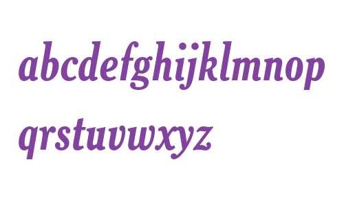 Cheltenham Bold Condensed Italic