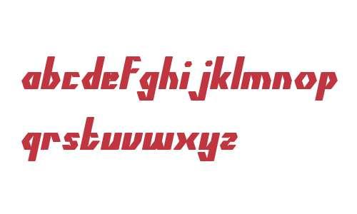 The Quick Bold Italic