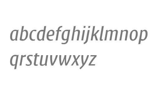 Klaus FY W04 Medium Italic