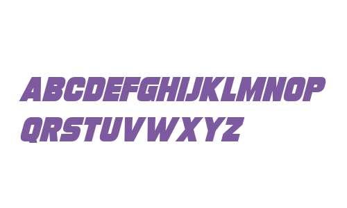 Turnaround Italic