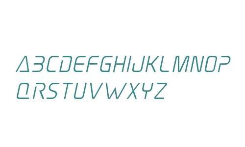 Elite Danger Semi-Bold Italic