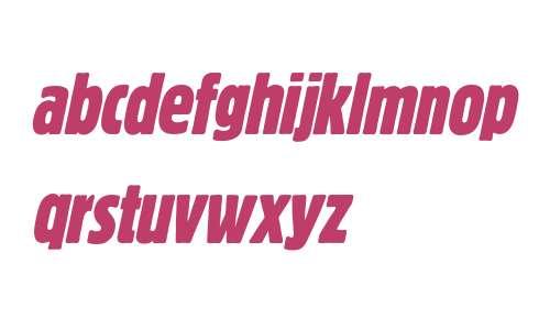 Block Berthold Extra Condensed Italic