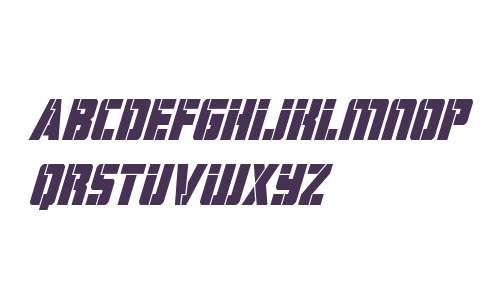 Hard Science Bold Super-Italic
