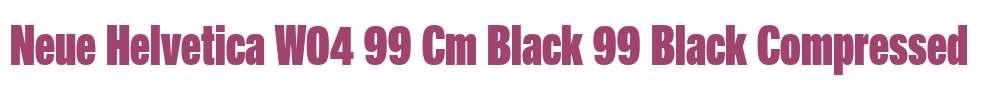 Neue Helvetica W04 99 Cm Black