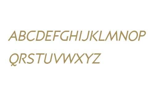 P22 Speyside W01SC Italic SC