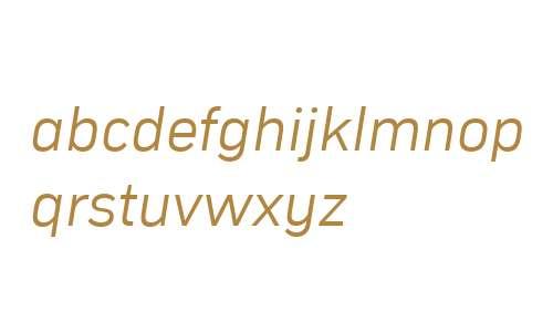 Compasse W03 Light Italic