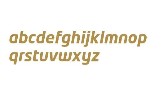 NeoTech Bold Italic