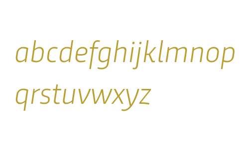 Trasandina W03 Light Italic