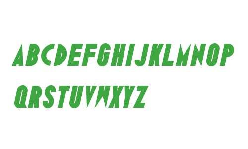 Ano Black W00 Wide Italic
