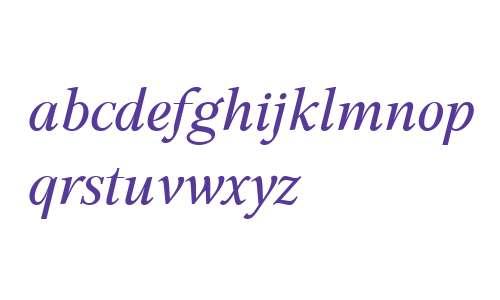 GHEA Aspet W01 Italic