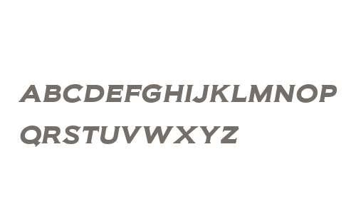 Biondi W00 SemiBold Italic