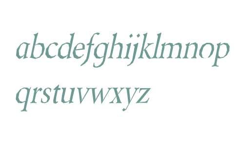 Berylium Italic V2