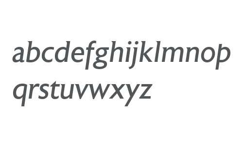 Astoria W00 Roman Italic