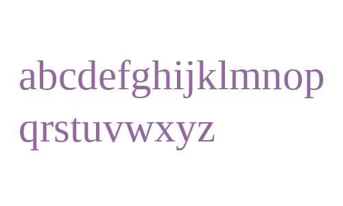 Liberation Serif V2