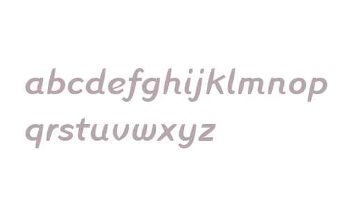 Linotype Inagur Medium Italic