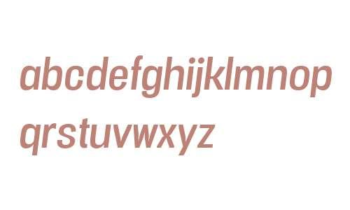Vacer Sans W00 Italic
