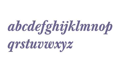 Berthold Baskerville Medium Italic