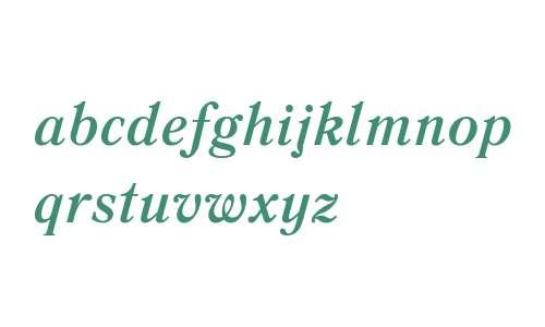 Literaturnaya W08 Bold Italic
