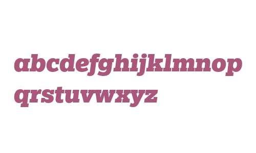 Egyptian Slate W04 Black Italic