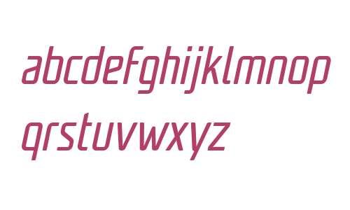 Unicod Sans W03 Cond Regular It