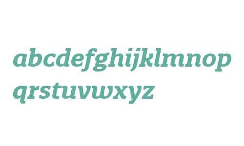 Quatro Slab W03 Bold Italic