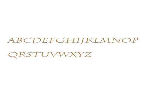 Chaz Extended Italic