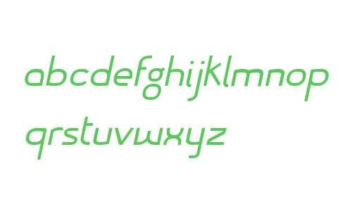 Mercurio W00 Italic