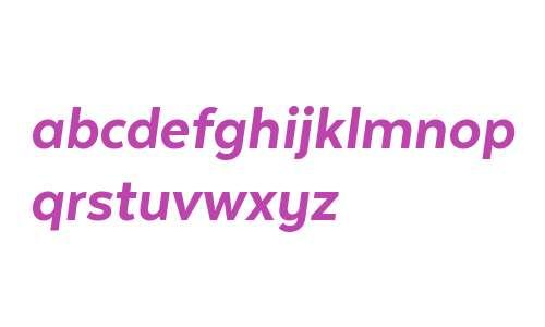 Texta W00 Heavy Italic