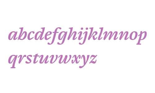 Cardamon W01 Semibold Italic