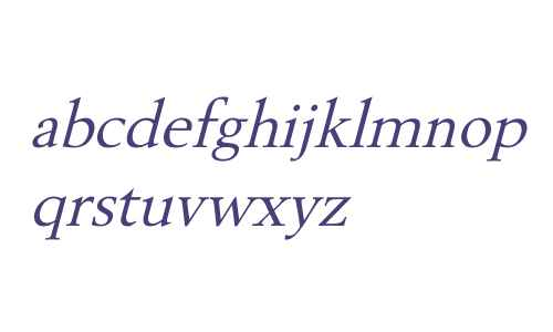 Revive OV Italic
