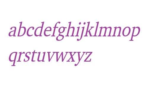 Challenge Condensed Italic
