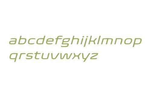 Biome W04 Wide Italic