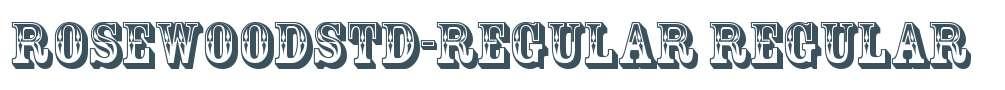 RosewoodStd-Regular