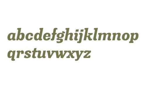 Minernil W00 Black Italic