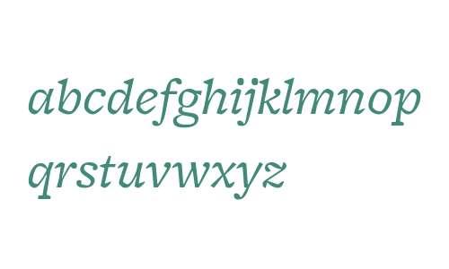 FreightMicro W03 Book Italic
