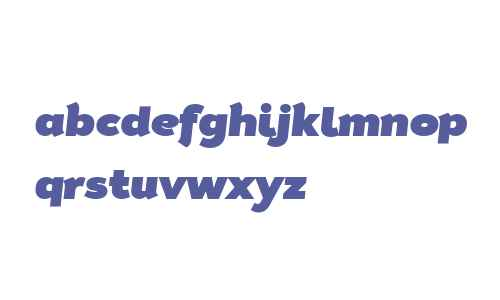 Tide Sans 900 Dude Italic