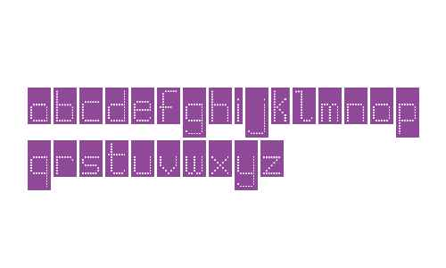 WLM Pixel Party Black Squares Regular