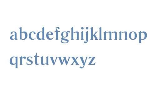 Literaturnaya W08 Bold