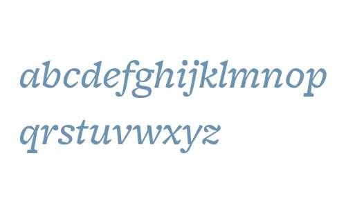 FreightMicro W03 Medium Italic