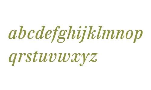 Walburn W01 Text Italic