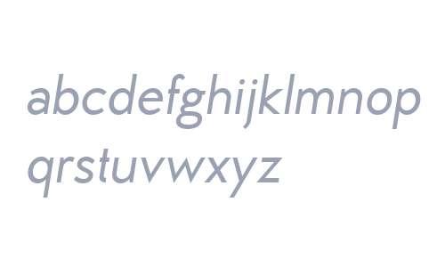 MB Vinatage W01 Medium Italic