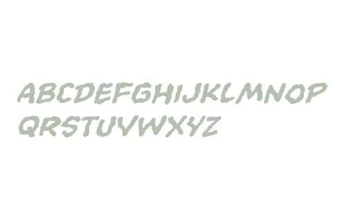 CCEvilSchemes W00 Bold Italic