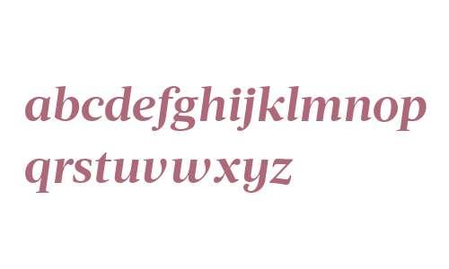 Acta Deck W00 Bold Italic
