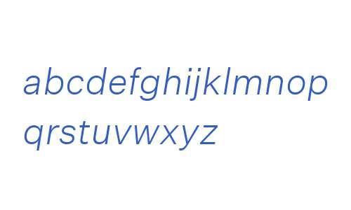 Untitled Sans Light Italic