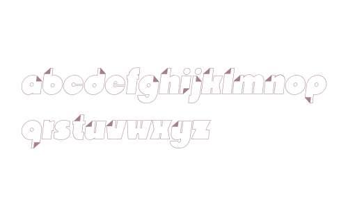 Nido W03 White Italic
