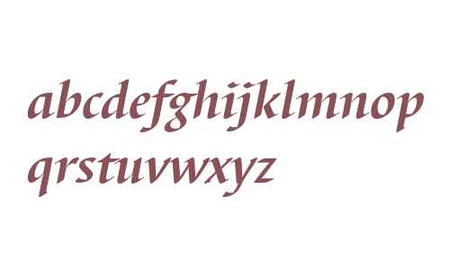 Barbedor T Bold Italic
