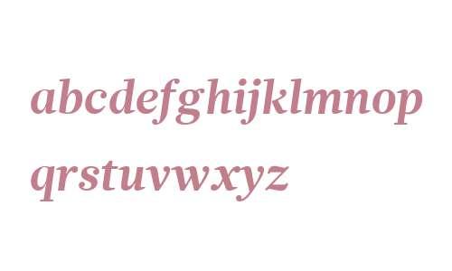 Glosa W01 Bold Italic